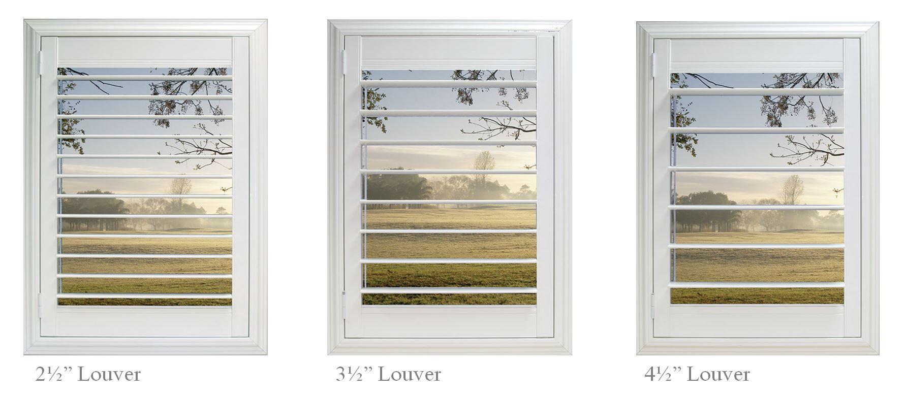 Plantation Shutter Gallery Window Scenes