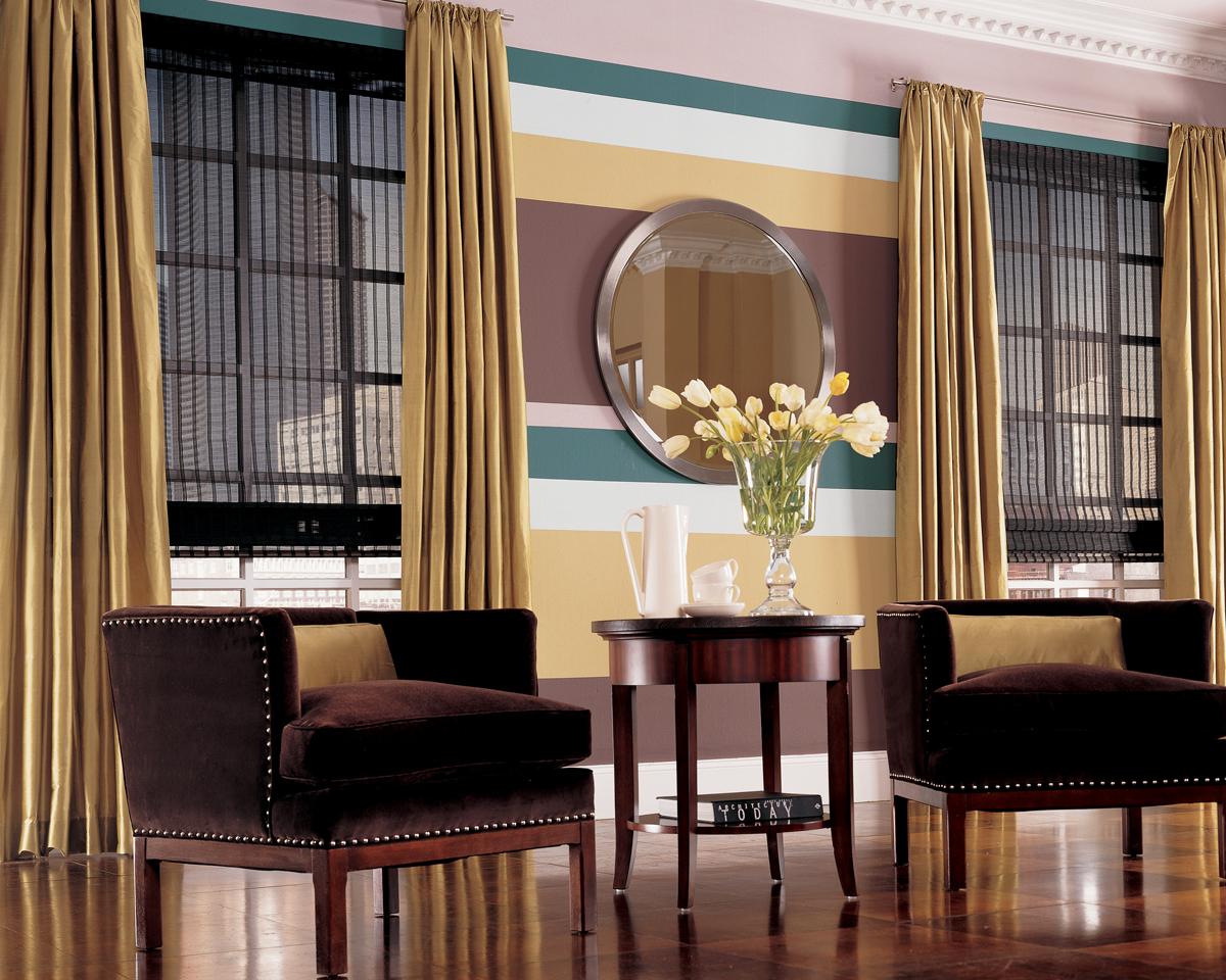 Woven Wood Gallery Window Scenes